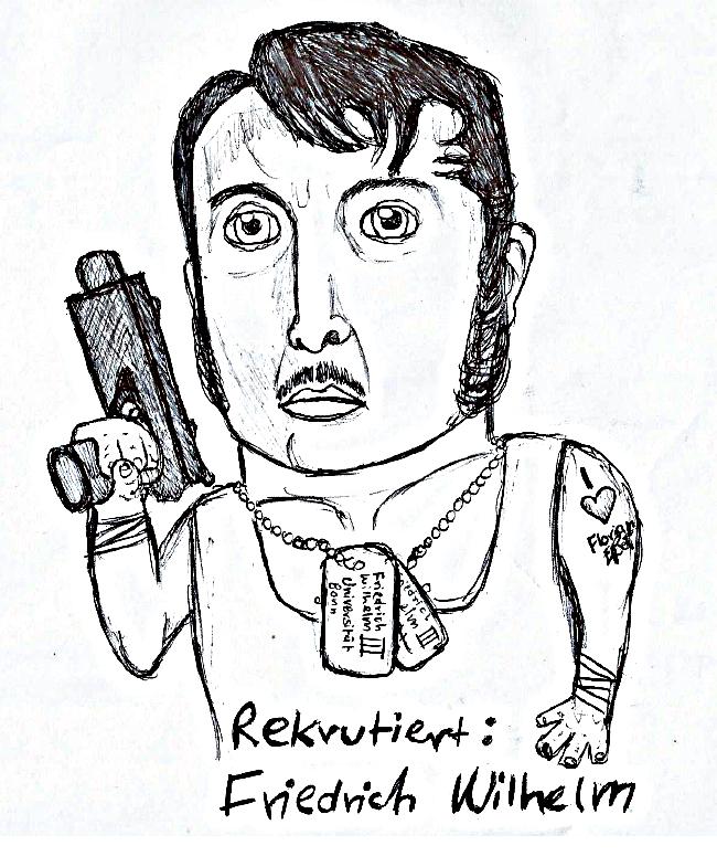 Karikatur Flo-Kommentar