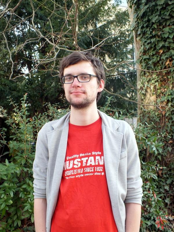 Lukas Mengelkamp engagiert sich gegen die geplante Kissinger-Professur an der Uni Bonn.