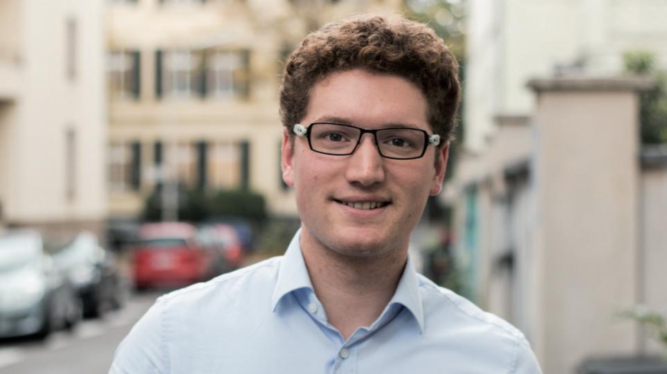 Ausschussvorsitzender Matthias (RCDS): »Keine Prüfung, ob die Zahlungen korrekt sind« (Foto: Alexander Grantl / AKUT)