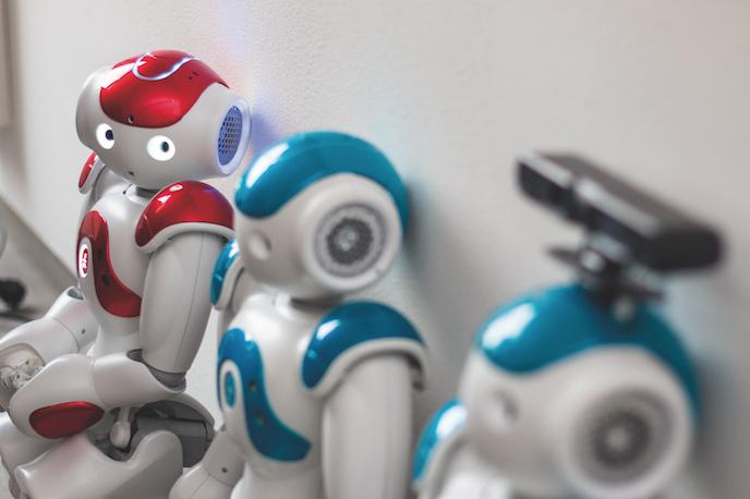 Humanoider Roboter Nao (Foto: Alexander Grantl / AKUT)